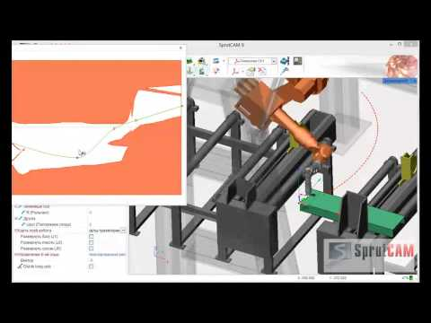 Offline programming of plasma cutting with KUKA