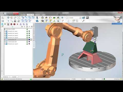 Machining with SprutCAM Robot of Yaskawa Motoman