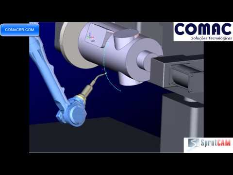 Welding with SprutCAM Robot for Motoman Yaskawa robot